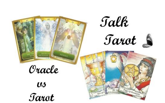 Oracle cards and Tarot Cards, Talk Tarot